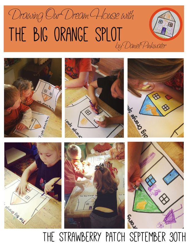 The big orange splot writing activities