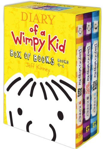 Diary of a Wimpy Kid Box of Books 4-6 « Library User Group