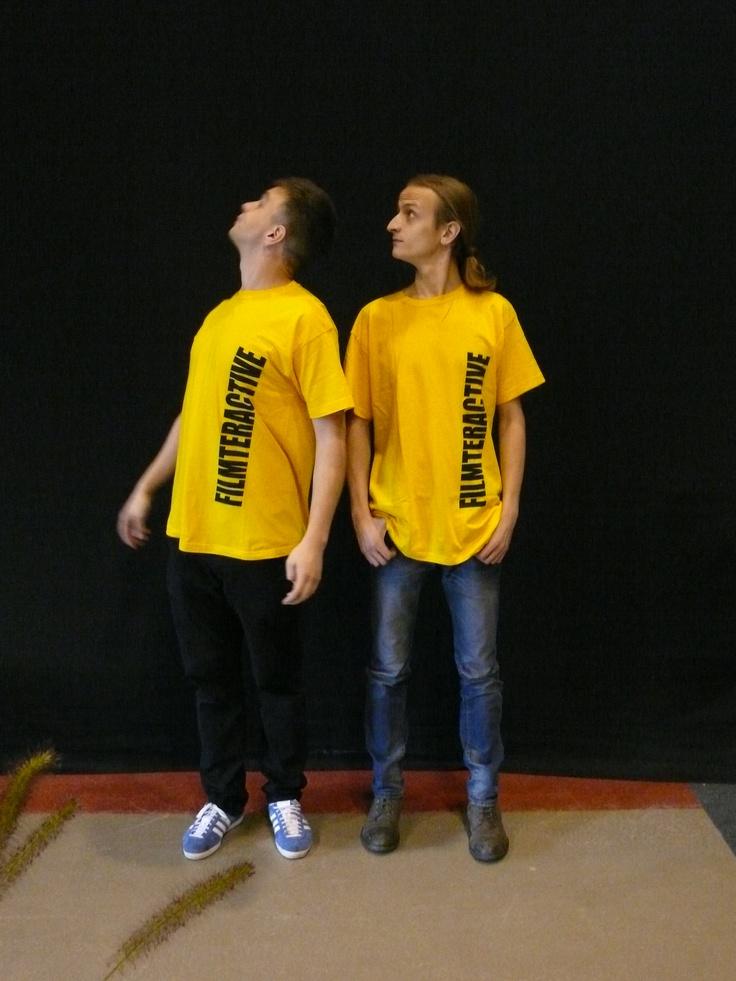 Filmteractive Festival volunteers.