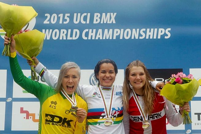 UCI BMX World Championships 2015 - Heusden-Zolder (BEL) » www.ilovegirlriders.com/site/articles/9-races/94-uci-bmx-world-championships-2015-heusden-zolder-bel - #ilovegirlriders #iamagirlrider #ilgr #girlriders #bmx #uci #worldchamps #zolder