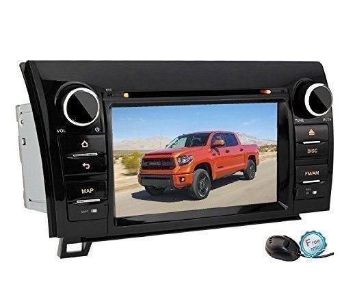 Special Offers - YINUO Quad Core 16GB Android 4.4.4 7-Inch 1024600 HD Capacitive Touch Screen for 2007-2013 Toyota Tundra/ 2008-2014 Toyota Sequoia Car DVD Player GPS Stereo In Dash Navigation AV Receiver support iPhone/Radio/Steering Wheel Control/Bluetooth/3G Wifi Hotspots/OBD2/DVR/AV-IN - In stock & Free Shipping. You can save more money! Check It (June 18 2016 at 07:04PM)…