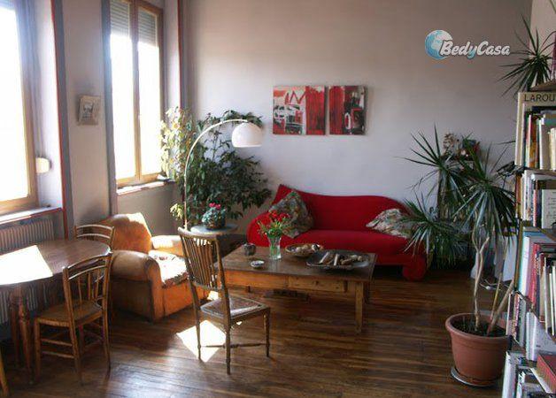 Louez un Chambre chez l'habitant, à Lyon à partir de 37€, 196€/semaine, 525€/mois à proximité de Salle Rameau, Jardin des Chartreux, Parc de la Cerisaie, La Maison des Canuts, Croix-Rousse, Hénon