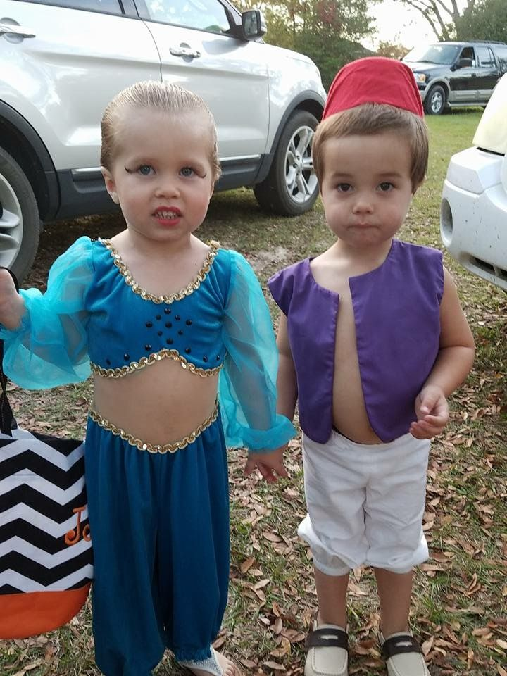 Brother Sister costume. Aladin and Jasmine