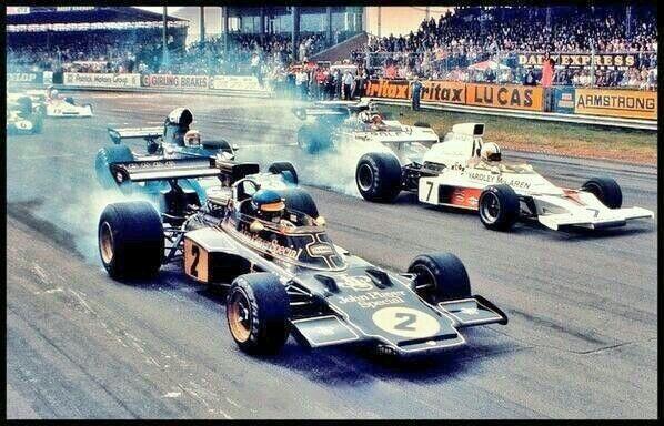 Second start of the 1973 British Grand Prix
