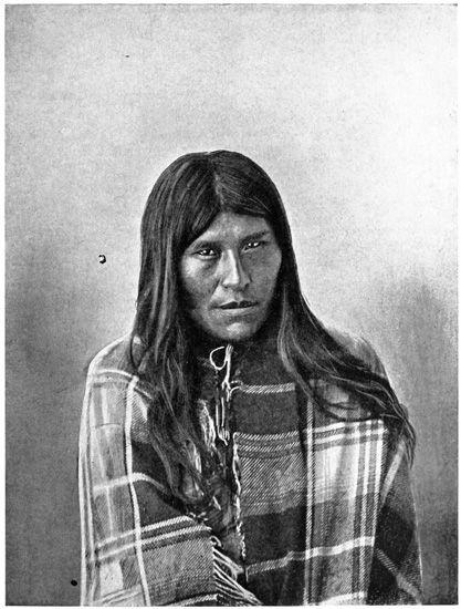 A DAUGHTER OF THE TOLDOS (TEHUELCHE)