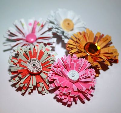 183 best handmade flowers images on pinterest paper flowers tutorial for quilled flowers mightylinksfo