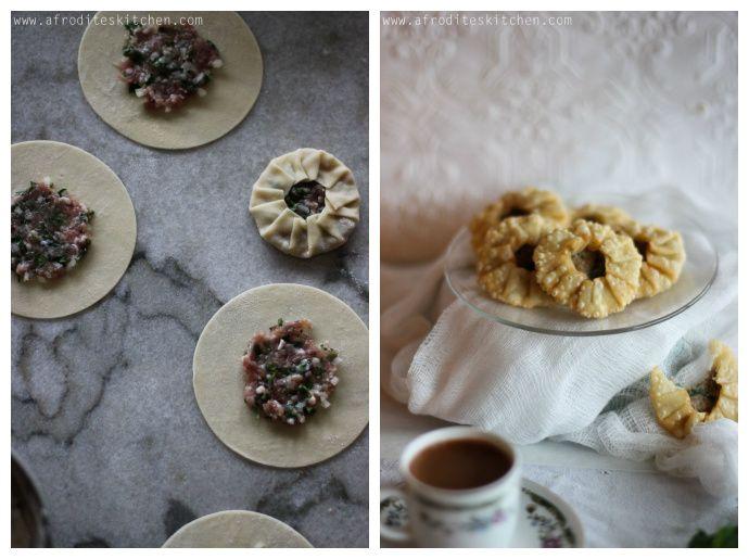 """Mini Pork Pies (""""Pork Bourekia"""") via afrodite's kitchen"""