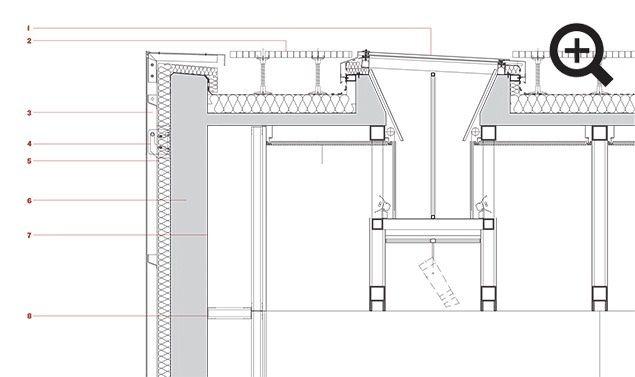 Image result for vertical skylight detail