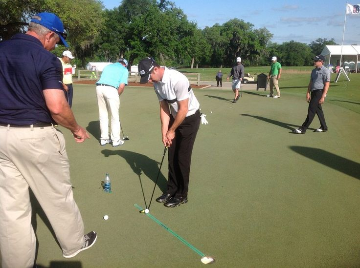 Afternoon practice Green. Or anytime indoors. Try the #PuttingStick @TPKGolf Great teaching tool! http://ow.ly/zF13305lR77