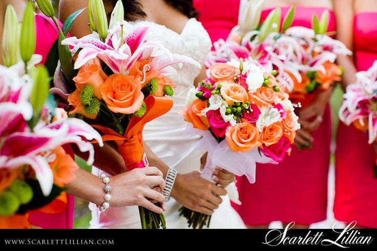 Glamorous Hot Pink Wedding