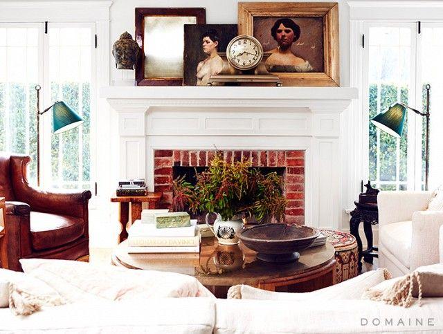 Décorer son manteau de foyer 10 idées les idées de ma maison photo