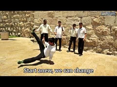 "Jewish website Aish.com 's amazing, Rosh Hashanah-themed version of Daft Punk's ""Get Lucky"" has gone viral in Israel and it's absolutely awesome. 