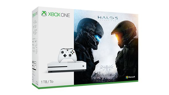Xbox One S Halo Collection Bundle (1TB) ★★★★★ OfferPrice:$349.00 The Xbox One S Halo Collection Bundle Deals includes: 1.1TB Xbox One S console 2.Xbox Wireless Controller 3.Halo 5: Guardians disc 4.Halo: The Master Chief Collection full game download 5.14-day Xbox Live Gold trial