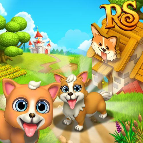 Do you agree that Corgis are the cutest dogs in the while world? The ones in Royal Story are 100% adorable! #royalstorygame #royalzoo