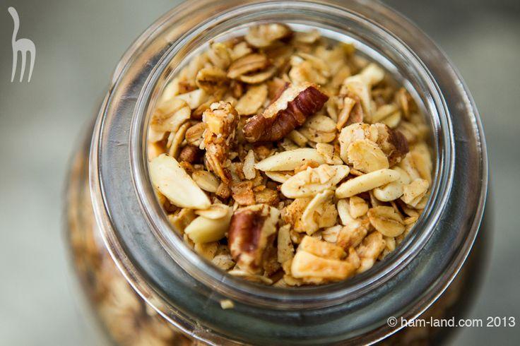 Almond Crunch Granola in a Jar