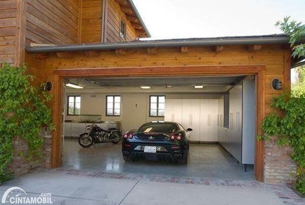 Berapa Sih Idealnya Ukuran Garasi Mobil Di Rumah Dekorasi Luar Ruangan Rumah Desain Rumah