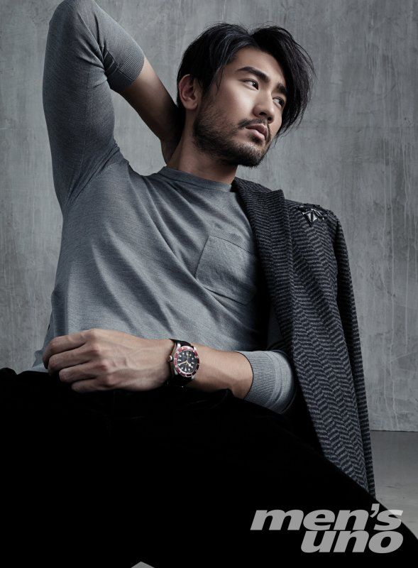 "godfreygaodailys: ""Photoset #1: Godfrey Gao Graces October issue of Men's Uno Hong Kong! """