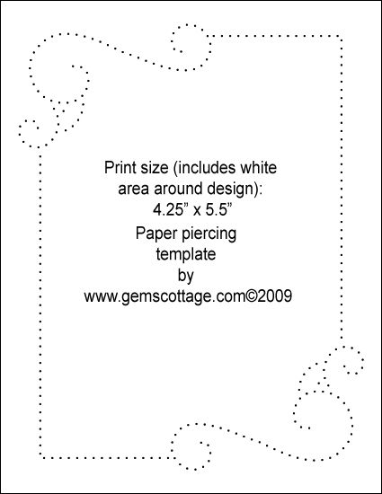 25 best ideas about paper piercing patterns on pinterest for Paper pricking templates