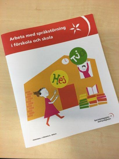 """Specialpedagogiska skolmyndighetens (spsm) material """"Arbeta med språkstörning i förskola och skola"""" ger inte bara en förklaring till vad språkstörning är utan också konkreta tips. Många…"""