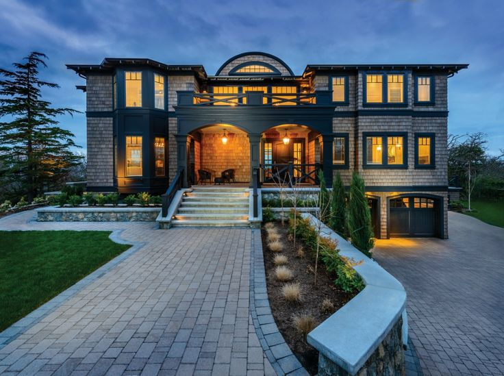 9 best vancouver island feature homes images on pinterest for Nice houses in canada