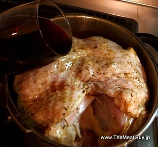 how to cook a bone in turkey breast