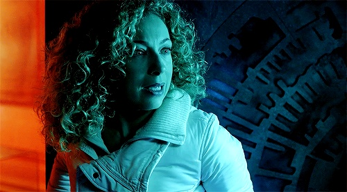 River: Hello Sweetie, Crossover Ish, Blue Boxes, Curly Girls, Mad Men, Rivers Songs, Rivers Th Epitom, Alex Kingston, River Songs