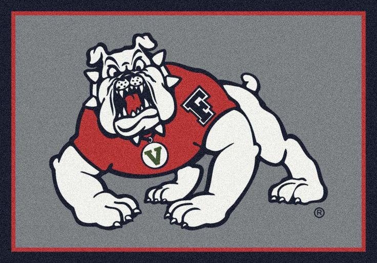 """""""Fresno State Bulldogs 33"""""""" x 45"""""""" Team Door Mat"""": Get in the game...with an NCAA Fresno State Bulldogs… #Sport #Football #Rugby #IceHockey"""