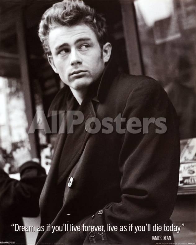 James Dean Movies Mini Poster - 41 x 51 cm