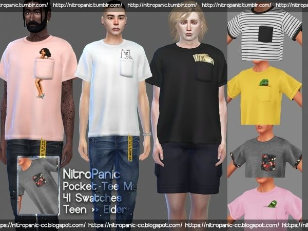 e8cb62cdae1b0 Pocket Tee M - The Sims 4 Download - SimsDomination