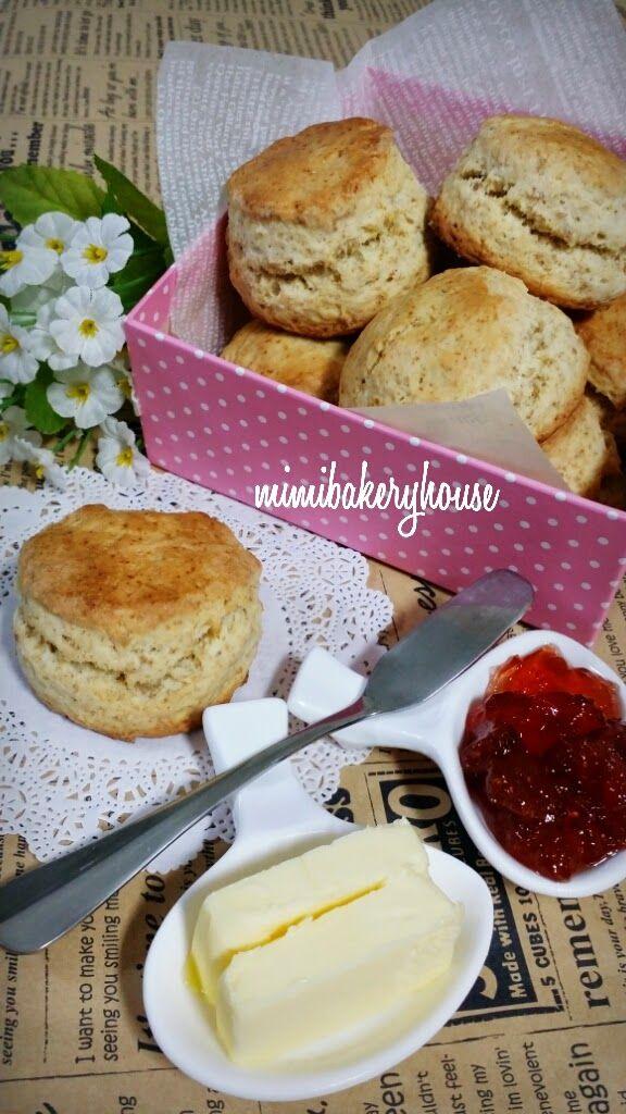 MiMi Bakery House: Wholemeal Scones