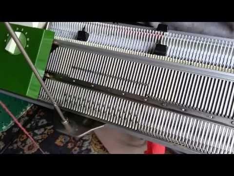 how to use a passap knitting machine