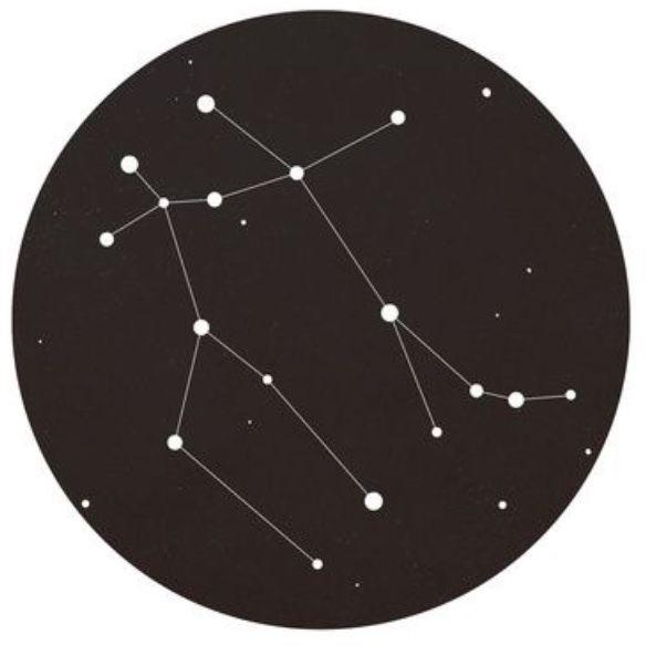 Созвездия зодиака картинки на белом фоне