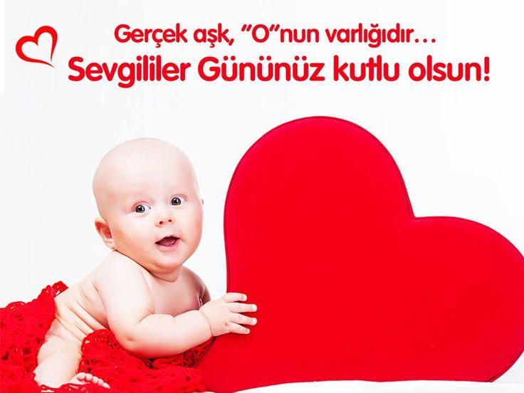 """Gerçek aşk, """"o""""nun varlığıdır...  Sevgililer gününüz kutlu olsun! #ozgurolun #sevgililergunu #baby #love"""