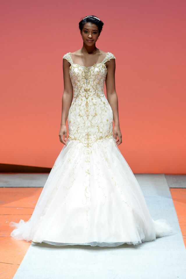 Cute Tiana Inspired Gown Disney us Fairy Tale Weddings by Alfred Angelo Wedding Dress Collection