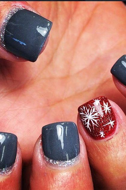 The Christmas Edit: Christmas Nail Designs