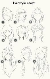 Znalezione obrazy dla zapytania rysunek fryzury
