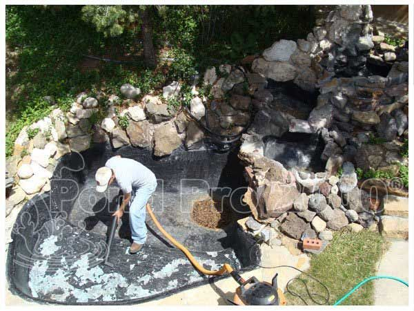 10 best pond leak repairs images on pinterest bentonite for Fish pond repair