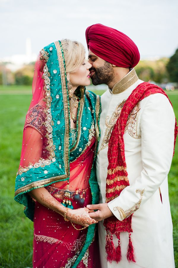 beautiful Sikh/Christian wedding