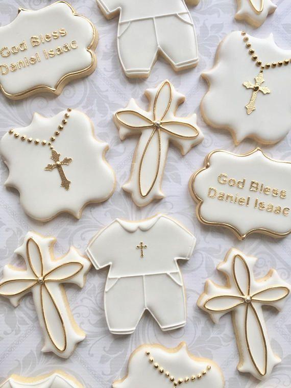 Best 25 Baptism Cookies Ideas On Pinterest Christening