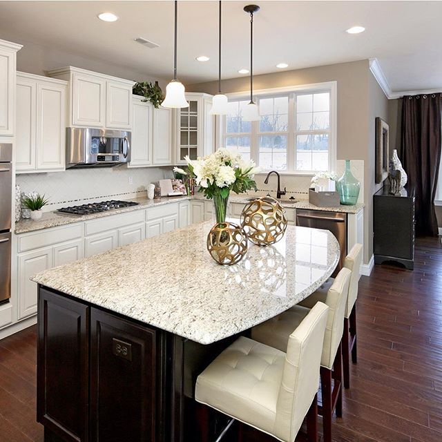 Our #Pinterest page has design tips and inspiration to create the kitchen of your dreams! | Pulte Homes
