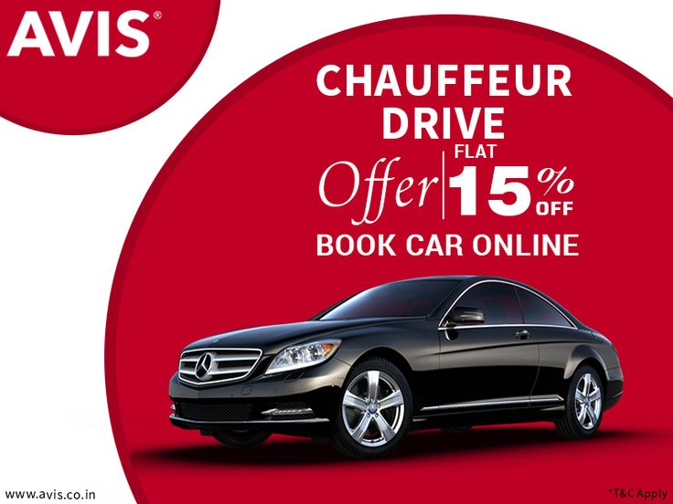 AVIS India provides the best chauffeur-assisted car rental services in more than 30 selected Indian cities. You will get to choose from the most popular brands such as Nissan, Toyota, Skoda, Audi, Volkswagen, and Mercedes. In addition, AVIS offers flat 15% off on the total amount payable. Log on to http://bit.ly/1wTNgZi to book your favorite car and avail the amazing benefit only with AVIS India car rental service.