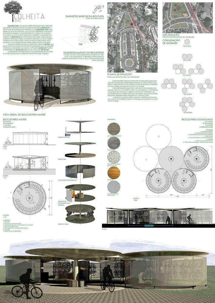 Galeria - Resultados do 1º Prêmio {CURA}: Bicicletário - 11