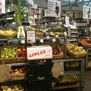 The amazing fresh produce for sale at About Life shop. So many interesting and unusual products. Was always here when I was writing the Ancient Grains book