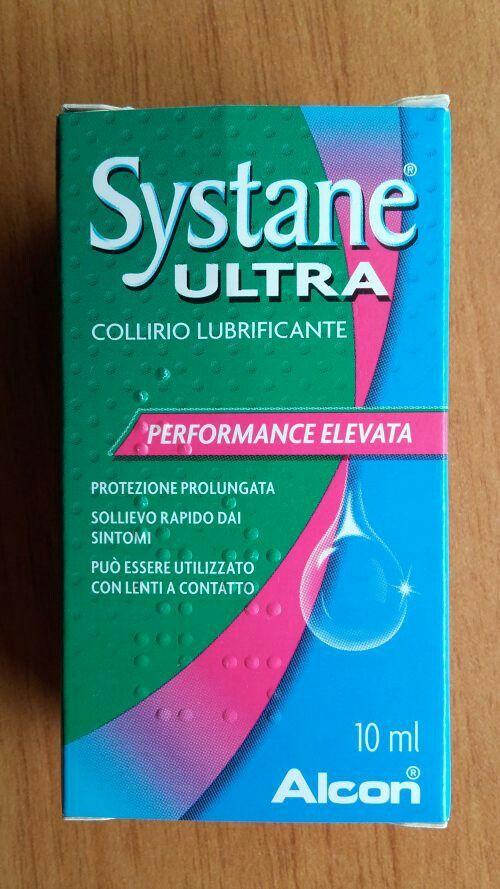Collirio lubrificante per lenti a contatto