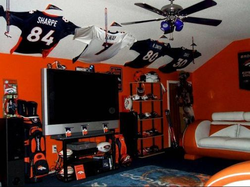 Never thought to display jerseys......
