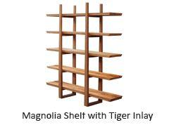 Greenington Magnolia Bookshelf