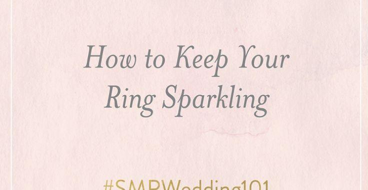 #SMPWedding101 – Wedding Ring Cleaning Tips