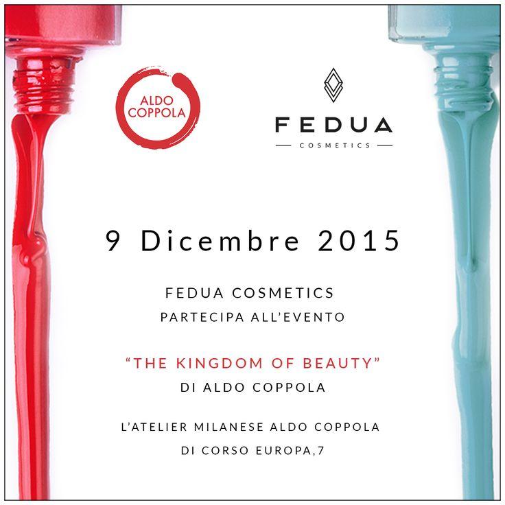 "Fedua Cosmetics participates in the event ""THE KINGDOM OF BEAUTY"" of Aldo Coppola! Fedua Cosmetics partecipa all'evento ""THE KINDGOM OF BEAUTY"" di Aldo Coppola! #feduacosmetics #aldocoppola #beautyinspiration"