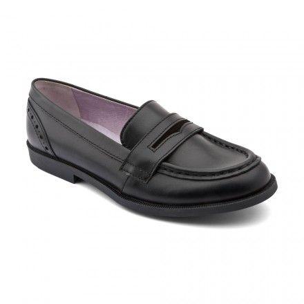 Fairford, Black Leather Girls Slip-on School Shoes - Girls School Shoes - Girls Shoes http://www.startriteshoes.com/girls-shoes/school-shoes/fairford-black-girls-slip-on-school-shoes