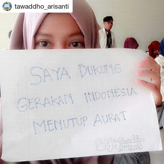 #Repost @tawaddho_arisanti with @repostapp  #indonesiamenutupaurat #gerakanindonesiamenutupaurat